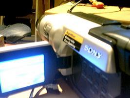 Hi Camcorder mit LCD Bildschirm