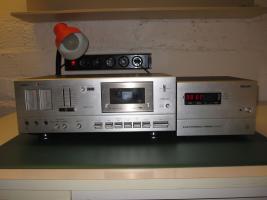 Foto 3 HiFi-Anlage Philips: Schrank, Kassetten-Recorder, Timer, Plattenspieler, Verstärker, Radio