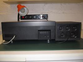Foto 4 HiFi-Anlage Philips: Schrank, Kassetten-Recorder, Timer, Plattenspieler, Verstärker, Radio