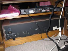 Foto 10 HiFi-Anlage Philips: Schrank, Kassetten-Recorder, Timer, Plattenspieler, Verstärker, Radio