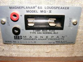 Foto 2 HiFi Magneplanar Magnepan MG II