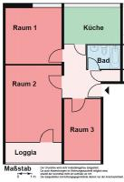 Hier wartet IHR neues ZUHAUSE!! 3 Zimmer + WANNENBAD + BALKON + P