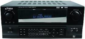 Hifi-Receiver McVoice ''AMP-510bl'', USB, 5-Kanal: 2x140 Watt + 3x 40Watt, FB, Impedanz 4-16Ohm