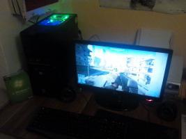 High End Rechner mit LG Bildschirm 22''