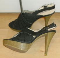 High Heels Sandalette Gr�sse 40, NEU