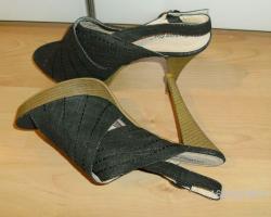 Foto 2 High Heels Sandalette Gr�sse 40, NEU
