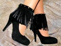 High Heels Schuhe Braun
