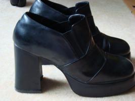 High Heels, schwarz, Größe 40