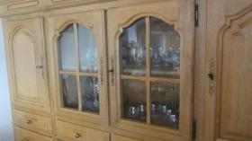 Foto 2 Highboard Vitrinenschrank