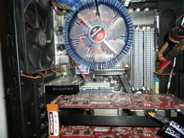 Foto 2 Highend Gamer PC Intel Quadcore 4x3,0 GHZ+21,7'' LG Flatron TFT