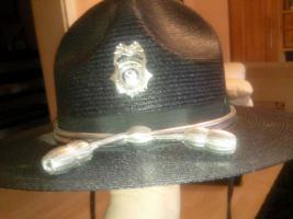 Highway patrol hat