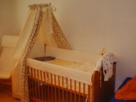 himmel mit schleife f r babybett handgearbeitetes einzelst ck in berlin von privat. Black Bedroom Furniture Sets. Home Design Ideas