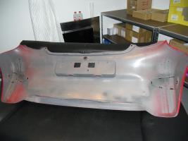 Foto 3 Hintere Stoßstange Toyota Aygo rot