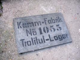 Historische Hallen-Schild des Ehem.Schildkröt-Werkes Mannheim