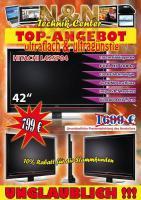 Foto 2 Hitachi L42SP04 42'' LCD TV 106cm DVB-T HDMI 100 Hz Fernseher TOP