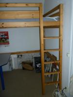 Foto 3 Hochbett Holz 140 x 200 cm mit Matratze von Ikea