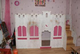 Hochbett für Prinzessinen