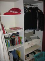 Foto 3 Hochbett mit begehbarem Kleiderschrank