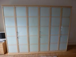 hocherwertiger schlafzimmerschrank 3 meter in karlsruhe ahorn mdf beschichtet. Black Bedroom Furniture Sets. Home Design Ideas