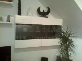 Foto 2 Hochglanz wei�e Wohnzimmerwand zu verkaufen