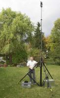 Hochstativ-System bis 12 m + Digitalkamera und Ausstattung