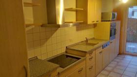 Hochwärtige Einbauküche Ahorn, fast neuwertig , kompl. mit Geräten Preis: 1.600 EUR VB