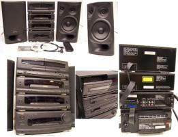 Hochwertige Dolby Surround High-Fi Musikanlage (5 Lautsprecher)
