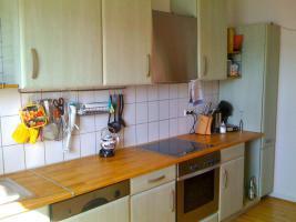 Hochwertige Einbauküche in sehr gutem Zustand mit Bosch-Geräten