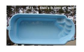 Foto 3 Hochwertige GFK - Schwimmbecken zum Erdeinbau