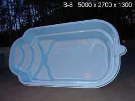 Foto 4 Hochwertige GFK - Schwimmbecken zum Erdeinbau