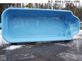 Foto 6 Hochwertige GFK - Schwimmbecken zum Erdeinbau