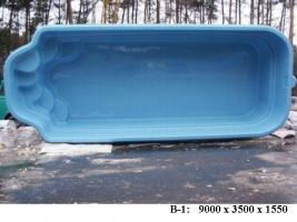 Foto 7 Hochwertige GFK - Schwimmbecken zum Erdeinbau