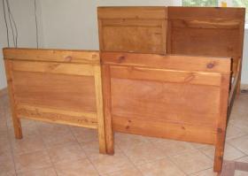 Hochwertige Massivholz-Möbel (Schlafzimmer) zu verkaufen
