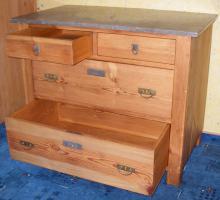 Foto 6 Hochwertige Massivholz-Möbel (Schlafzimmer) zu verkaufen