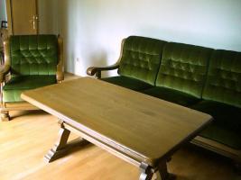 Foto 2 Hochwertige Wohnzimmergarnitur Eiche rustikal