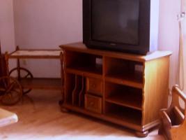 Foto 3 Hochwertige Wohnzimmergarnitur Eiche rustikal