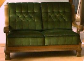 Foto 5 Hochwertige Wohnzimmergarnitur Eiche rustikal