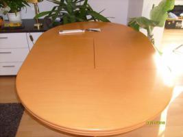 Foto 2 Hochwertiger Esszimmertisch mit 6 Stühlen
