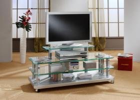Hochwertiger TV-Glastisch zum absoluten Tiefstpreis