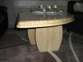 hochwertiger und massiver travertin couchtisch abzugeben in bochum marmor. Black Bedroom Furniture Sets. Home Design Ideas
