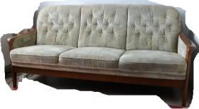Hochwertiges Couchg., Dreisitzer und 2 Sessel, Lieferung möglich