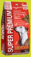 Hochwertiges Hundefutter SUPER PREMIUM, Trockenfutter, Fleisch 39% (Huhn 21%, Rind 18%)