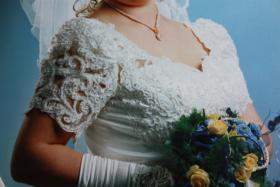 Foto 2 Hochwertiges  Brautkleid