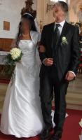 Foto 2 Hochzeitsanzug bestehend aus Sakko, Hose, Weste und Plastron
