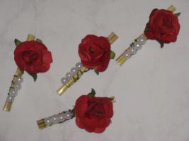 Hochzeitsdekoration - Anstecker
