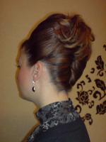 Foto 4 Hochzeitsfrisuren, Hochsteckfrisur, Make Up