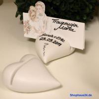 Foto 2 Hochzeitsgeschenke in Zernsdorf kaufen, Kartenhalter Herz 4 Stück