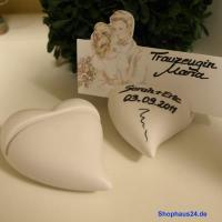 Foto 5 Hochzeitsgeschenke in Zernsdorf kaufen, Kartenhalter Herz 4 Stück