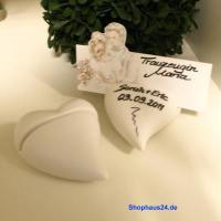 Foto 6 Hochzeitsgeschenke in Zernsdorf kaufen, Kartenhalter Herz 4 Stück