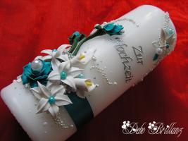 Foto 2 Hochzeitskerze ''Calla Lily'' 185x60
